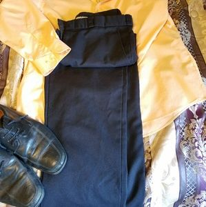 Men's Black Dress Pants